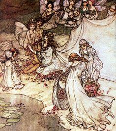 Arthur Rackham-Fairies-Midsummer Night's Dream