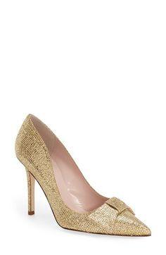 Free shipping and returns on kate spade new york 'layla' pointy toe pump (Women) at Nordstrom.com. A prim kate spade bow effortlessly refines a shapely satin pump finished with a perfectly pointed toe.