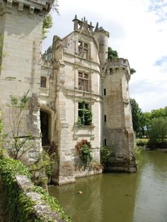 Château de la Mothe-Chandeniers in the town of Les Trois- Moutiers, Poitou-Charentes region of France. --Visitable--