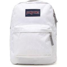 Jansport Superbeak School Backpack ($36) ❤ liked on Polyvore featuring bags, backpacks, accessories, bookbags, zipper bag, knapsack bags, jansport, rucksack bag and zip bags