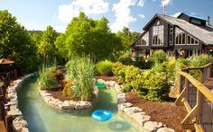 Lazy River at Bluegreen Wilderness Club™ at Big Cedar® resort in Ridgedale, MO.   Bluegreen Vacations #BluegreenResorts #BluegreenVacations