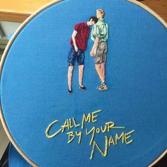 Hand Embroidery Art, Embroidery On Clothes, Embroidery Patterns, Arte Van Gogh, Timmy T, Name Wallpaper, I Call You, Your Name, Art Projects