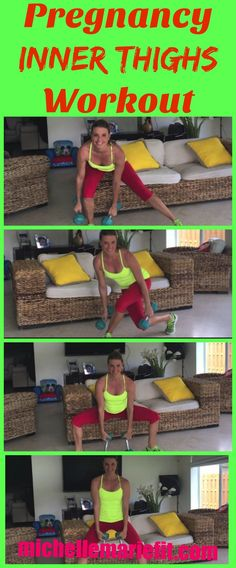 3 Exercise Pregnancy Circuit for the Inner Thighs. 15 Minute Workout no gym req… 3 Exercise Pregnancy Circuit for the Inner Thighs. 15 Minute Workout no gym required. Pregnancy Nutrition, Pregnancy Health, Pregnancy Fitness, Fit Pregnancy Workouts, Ab Core Workout, Butt Workout, Thigh Workouts At Home, Daily Workouts, Ab Workouts
