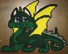 baby dragon plastic canvas patterns catalog of patterns free plastic canvas ...