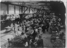 Title: Push cart market, east side  Date Created/Published: [ca. 1915]  Summary: Produce market, NYC