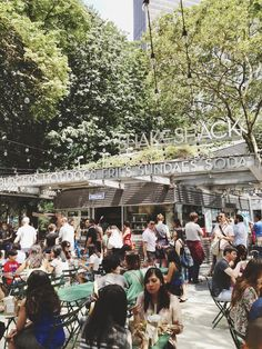 http://www.fermob.com/en/Browse-our-furniture/Flagship-collections/Bistro shake shack, madison square park