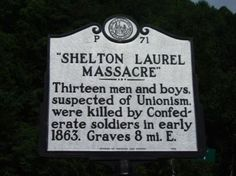 January 18, 1863: a #CivilWar-era tragedy that has come to be known as the Shelton Laurel Massacre took place