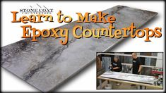 74 Best DIY Epoxy Countertops free training videos images in