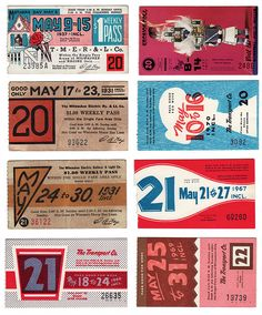 some old, yet nifty tickets