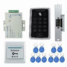 Access Control Kits Security & Protection Stainless Steel Door Bell Push Button Switch Touch Panel Office Door Exit Push Release Button For Access Control With Led Light Delicious In Taste