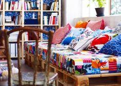 10 Sofás Feitos Com Paletes