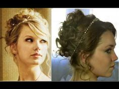 Bridesmaid hair ? The headband is so cute
