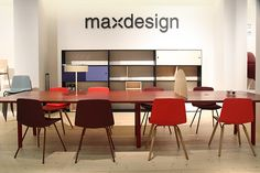 Stratos 20 & 25 on show by maxdesign - @products4people