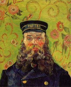 1889 Van Gogh Vincent Joseph-Etienne Roulin