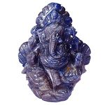 Rudraksha Collection offers blue sapphire ganesh , Blue sapphire ganesh Idols , Blue sapphire ganesh idols, in different size , weight , and different catats from India . This Gem stone guards one from all evil, purifies the mind and increase flow of positive energy and thought. It is specially recommended for protection.