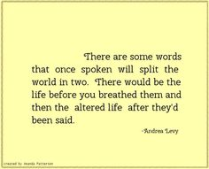Quotable - Andrea Levy