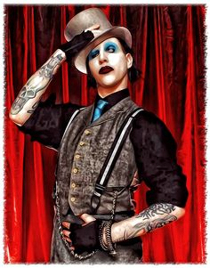 Marilyn Manson by kruemel-sangerhausen