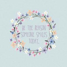 No hay nada mejor que ser la razón de las sonrisas de otra persona…