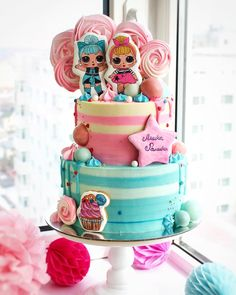 Birthday cake Doll ✅ Best 79 ideas of Birthday cake Doll 2019 with our website HD Recipes. Doll Birthday Cake, Homemade Birthday Cakes, Lol Doll Cake, Surprise Cake, Surprise Birthday, 6th Birthday Parties, Birthday Kids, Funny Birthday, Doll Party