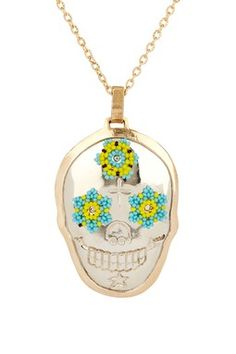 Calavera with a little bling.