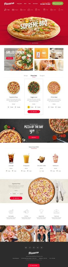Pizzaro is a beautiful #PSD template for fast #food, sushi and #pizza delivering restaurant website download now➯ https://themeforest.net/item/pizzaro-food-online-ordering-ecommerce-psd/17024608?ref=Datasata