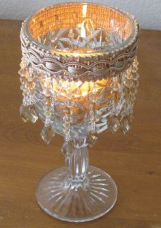 1000 images about home decor wine glass on pinterest for Centerpieces made with wine glasses