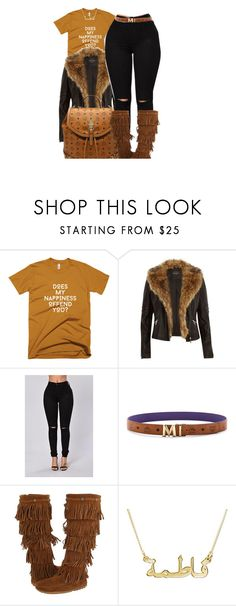 """""""Untitled #164"""" by fashionkilla-lex ❤ liked on Polyvore featuring River Island, MCM and Minnetonka"""