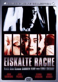 Sudden Fear starring Joan Crawford, Jack Palance and Gloria Grahame Gloria Grahame, Jack Palance, Joan Crawford, Movie Posters, Movies, Revenge, Films, Film Poster, Cinema