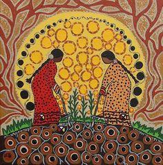 mujeres de maíz
