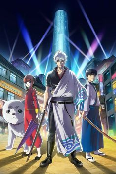 Browse pictures from the anime Gintama.: Shirogane no Tamashii-hen - Kouhan-sen (Gintama.: Silver Soul Arc - Second Half War) on MyAnimeList, the internet's largest anime database. Second Season of the final arc of Gintama. Naruto Shippuden, Fairy Tail, Memories Of The Sword, Ps4, Samurai, 2017 Anime, Animes Online, Comedy, Zero The Hero