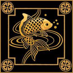Fish I Trivet Kit by Stephanie Stouffer