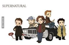Cute Supernatural