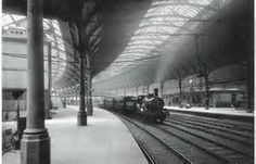 Newcastle Train Station : How times have changed!