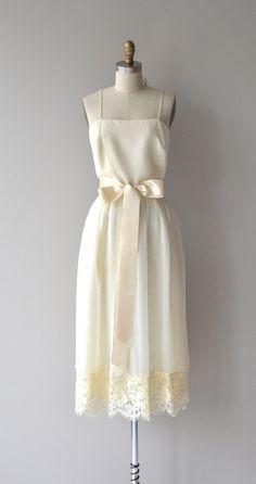 Lakeside Wedding dress vintage 70s dress 1970s by DearGolden