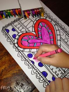 FREE Valentines Day Coloring