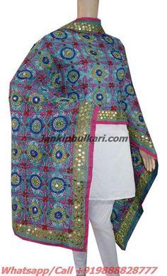 Special Chanderi Handicraft Dupatta Code- JDC1684