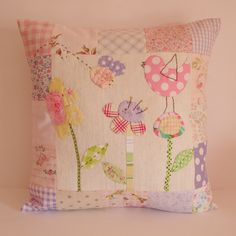 Gorgeous cushion for the nursery - so sweet!