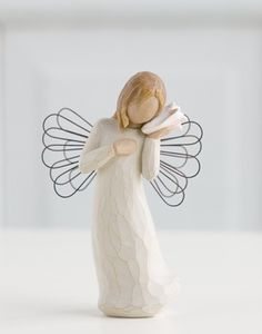 Thinking of You – Willow Tree figurine Susan Lordi (this one is Very special to me!)