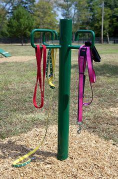 Dog Leash Holder   Dog Park Equipment at BYO Recreation. https://www.byoplayground.com/dog-park