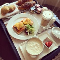 One of our guests enjoyed delicious breakfast right in her room and shared it on Instagram