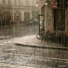 Hoy llueve     Hoy llueve, gotas suaves, relajadas, alimentando la tierra de tantos días de sed abandonada. Un suplicio de sudores ago...