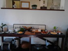 Great Breakfast at De Molen Guest House Cape Town, Breakfast, Places, Table, House, Furniture, Home Decor, Morning Coffee, Decoration Home