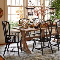 Get inspired by Farmhouse Dining Room Design photo by Room Ideas. Wayfair lets you find the designer products in the photo and get ideas from thousands of other Farmhouse Dining Room Design photos. Country Furniture, Dining Room Furniture, Dining Chairs, Dining Rooms, Ikea Chairs, Room Chairs, Country Decor, Furniture Decor, Furniture Design