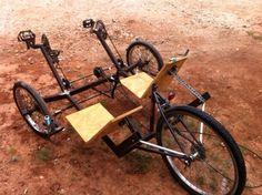 Picture of Sociable Recumbent Trike