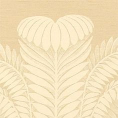 PALM DAMASK, Taupe, T9377, Collection Damask Resource from Thibaut