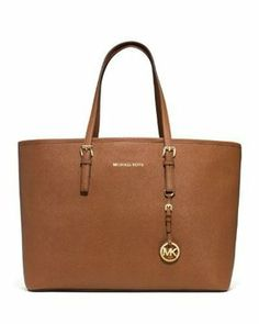 7325282c6c89 Michael Kors Jet Set Cognac Tote Bag $113 Michael Kors Jet Set, Michael  Kors Outlet