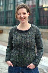 Ravelry: Northside Pullover pattern by Glenna C.