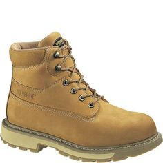 W01041 Wolverine Men's Insulated Work Boots - Wheat