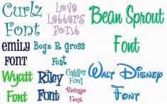 Fonts for embroidery machine - must see if that could work!