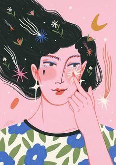 Graphic Design Illustration, Digital Illustration, Hippie Art, Art Sketchbook, Cartoon Art, Collage Art, Art Inspo, Art Drawings, Artwork